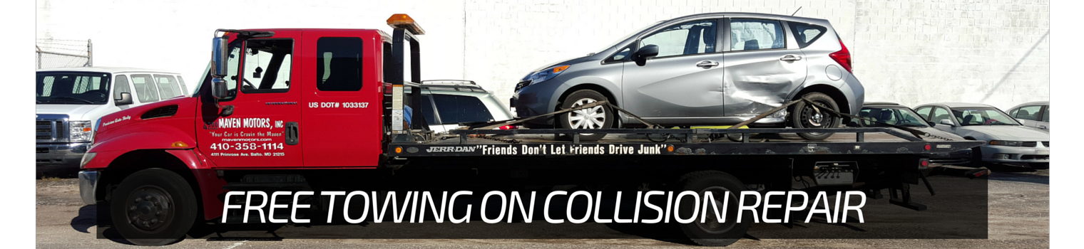 FREE TOWING ON COLLISION REPAIR